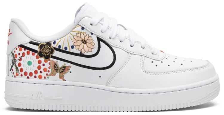 Wmns Air Force 1 'LNY' Nike AJ8298 100 | GOAT