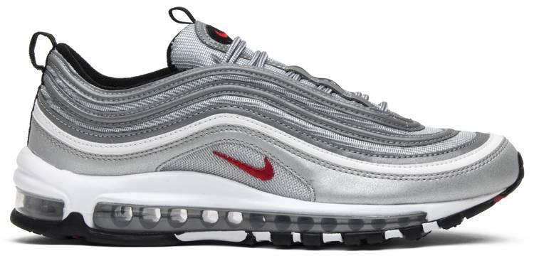 zapatos de otoño baratas salida de fábrica Air Max 97 OG QS 'Silver Bullet' 2017 - Nike - 884421 001 | GOAT
