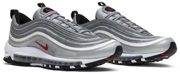 good texture skate shoes quality Air Max 97 OG QS 'Silver Bullet' 2017