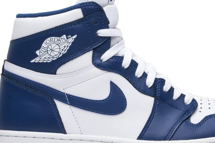 Air Jordan 1 Retro High Og Storm Blue Air Jordan 555088 127