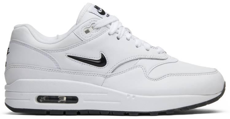 Air Max 1 Premium SC Jewel 'White Black' - Nike - 918354 103 | GOAT