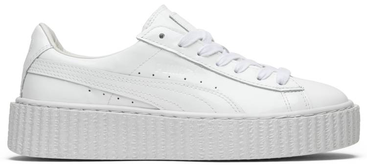 Fenty x Wmns Patent Leather Creepers  Glo White  - Puma - 362269 01 ... 7bf3b37260bd