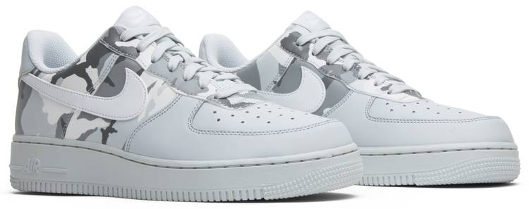 Air Force 1 'Grey Reflective Camo' 823511 009 in 2019