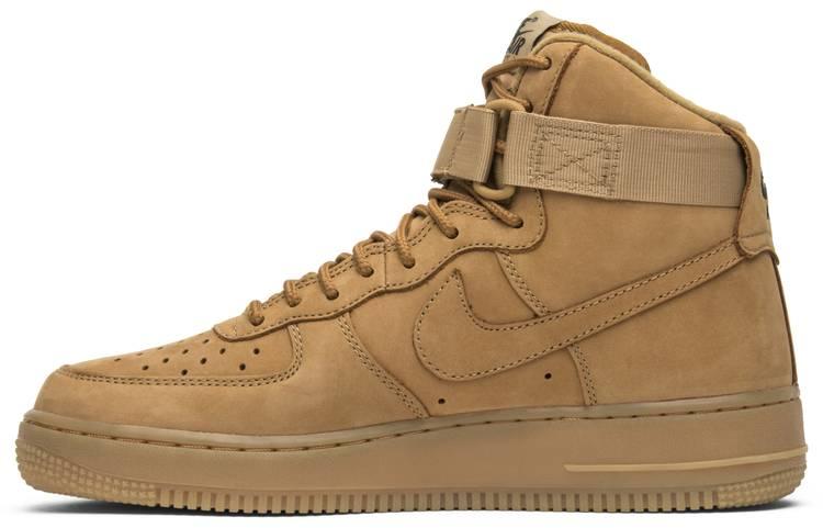 Air Force 1 High 'Flax'