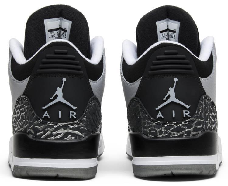 Air Jordan 3 Retro Wolf Grey