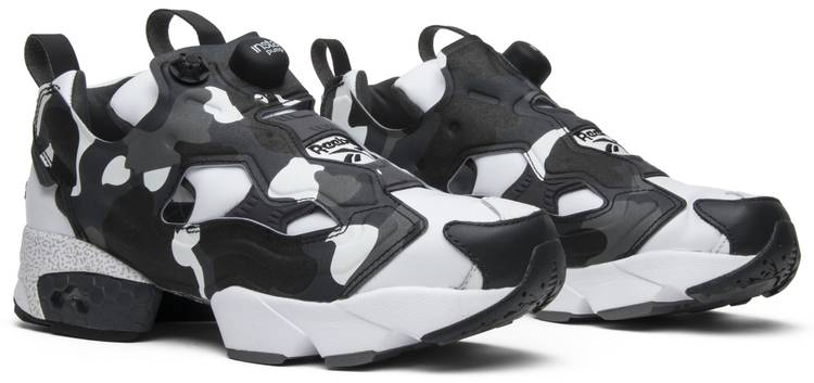 A Bathing Ape x Mita x InstaPump Fury 'White Black Camo'