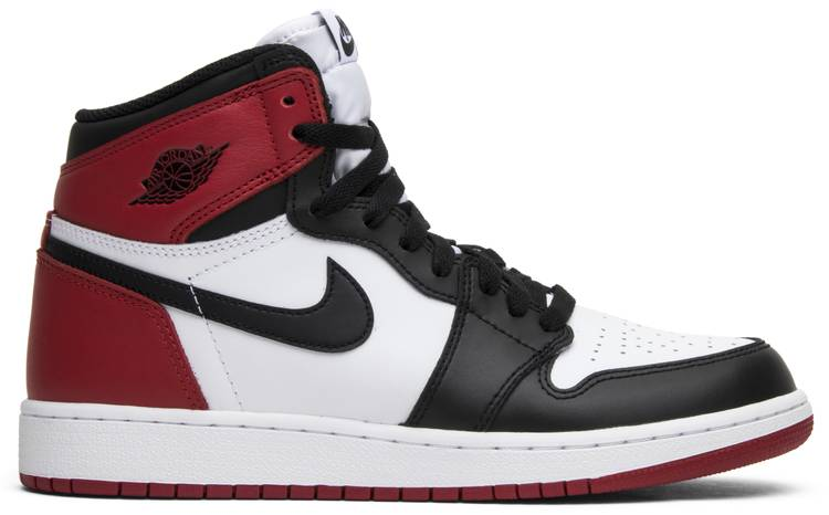 Air Jordan 1 Retro BG 'Black Toe' 2016 - Air Jordan - 575441 ...