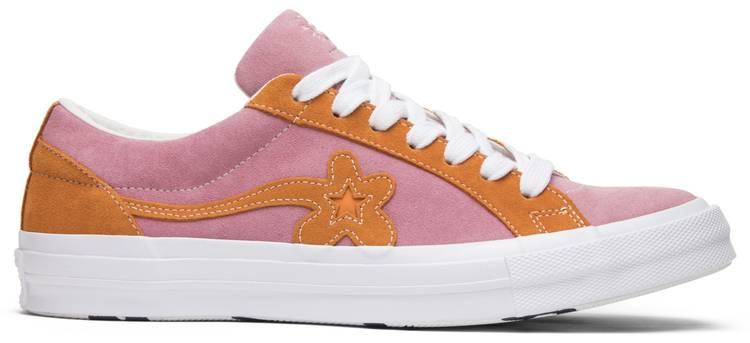 Golf Le Fleur X One Star Ox Candy Pink Converse 162125c Goat