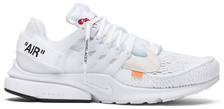Un fiel Sombra boca  Off-White x Air Presto 'White' - Nike - AA3830 100   GOAT