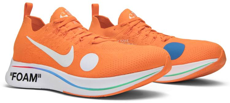 Objetor Perca venganza  Off-White x Zoom Fly Mercurial Flyknit 'Total Orange' - Nike - AO2115 800 |  GOAT