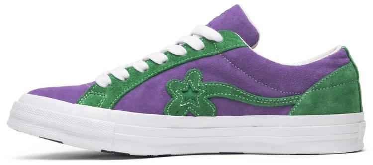 Golf Le Fleur x One Star Ox 'Purple Heart' - Converse - 162128C | GOAT