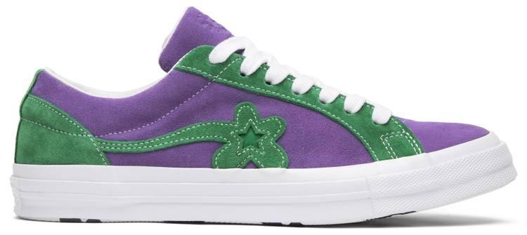 élite Ponte de pie en su lugar Ritual  Golf Le Fleur x One Star Ox 'Purple Heart' - Converse - 162128C | GOAT
