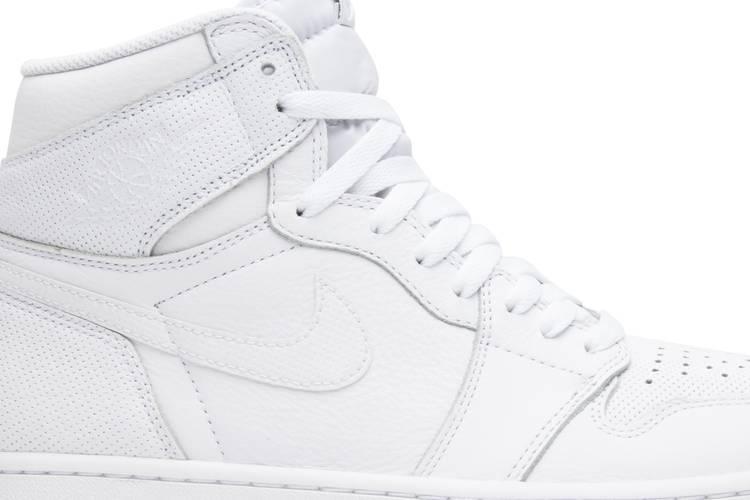 Air Jordan 1 Retro High OG 'White Perforated'
