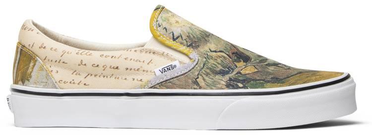 Vincent Van Gogh X Slip On Skull Vans Vn0a38f7u48 Goat