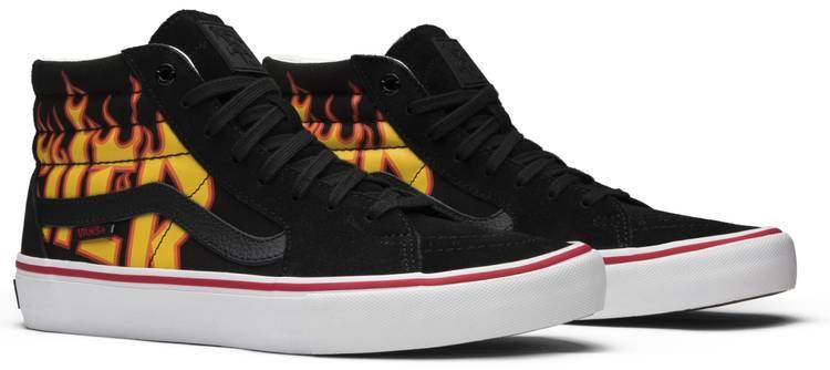 thrasher vans scarpe