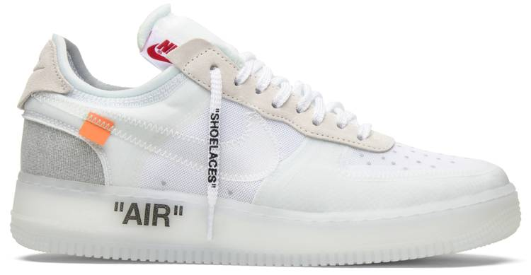 air force 1 nike x off white