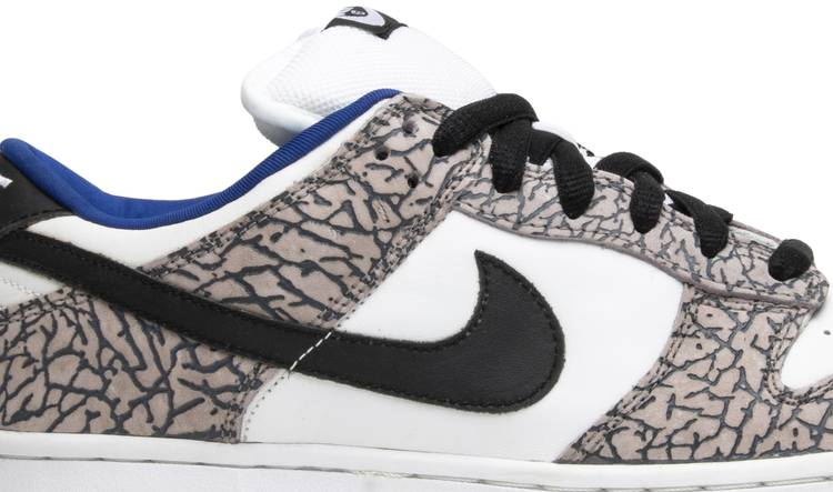 official photos top brands pretty nice Supreme x Dunk Low Pro SB 'White Cement' - Nike - 304292 001 ...