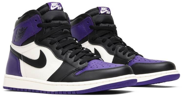 Air Jordan 1 Retro High Og Court Purple Air Jordan 555088