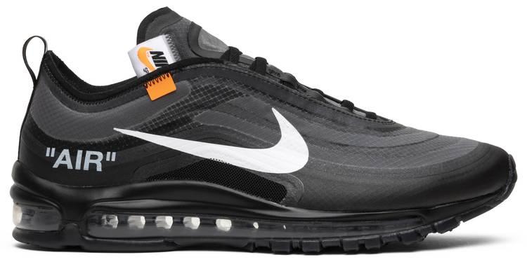 Útil motivo colonia  Off-White x Air Max 97 'Black' - Nike - AJ4585 001 | GOAT