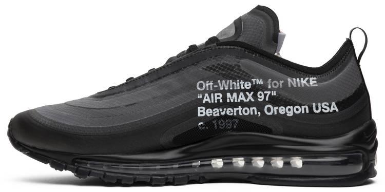 air max 97 off white black