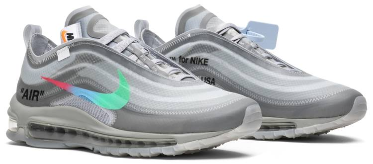 Off-White x Air Max 97 'Menta' - Nike - AJ4585 101 | GOAT