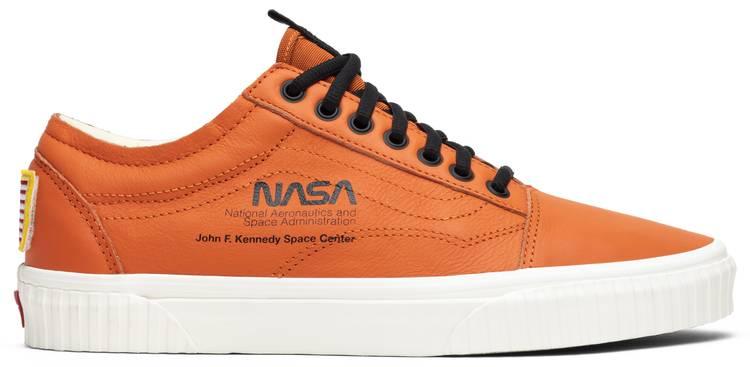 vans nasa orange