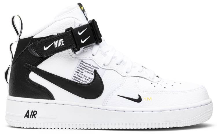 Canal Restricción Sudamerica  Air Force 1 Mid '07 LV8 'White Black' - Nike - 804609 103 | GOAT