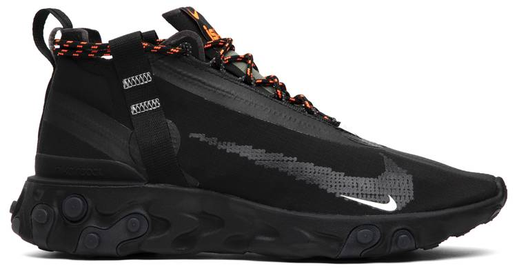 Brote Hora Calibre  React Runner Mid WR ISPA 'Black' - Nike - AT3143 001 | GOAT