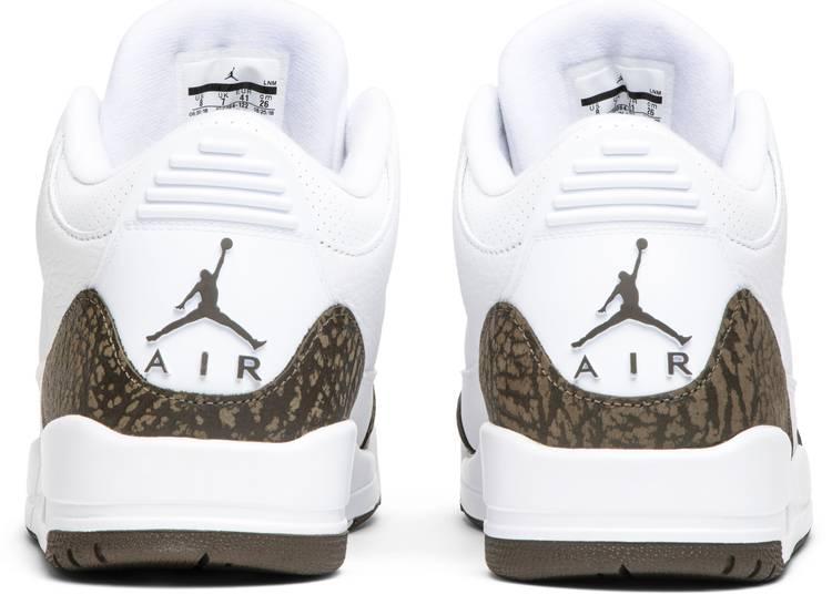 Air Jordan 3 Retro 'Mocha' 2018