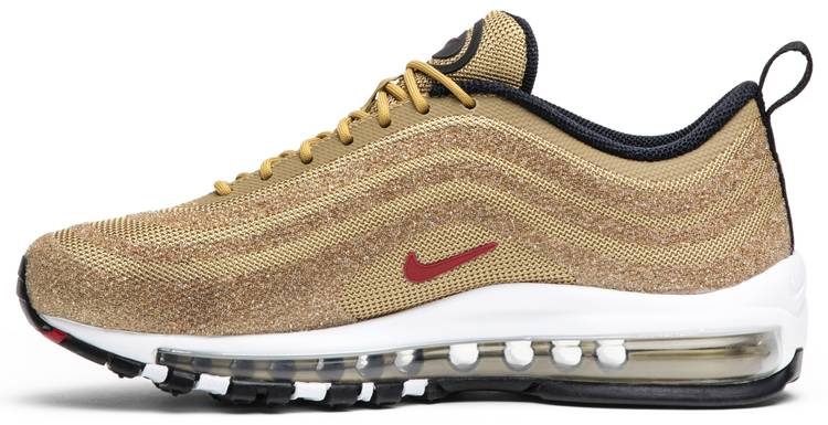 Swarovski x Wmns Air Max 97 Metallic Gold Trainers | Air Max