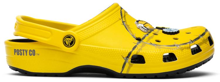 Post Malone Barbed Wire: Post Malone X Clog 'Barbed Wire' - Crocs - 206038 730