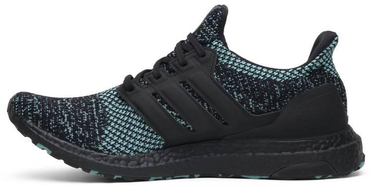 Men's adidas Originals Ultra Boost Core BlackTrue Green