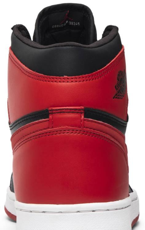 Air Jordan 1 Retro 'Bred' 2001