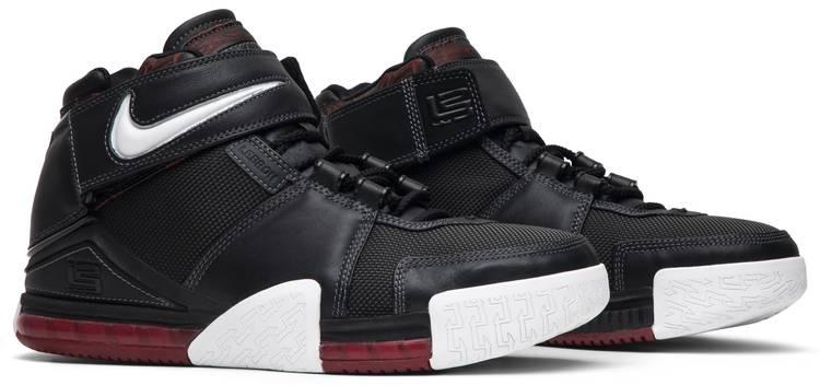 Zoom LeBron 2 'Black Crimson' - Nike