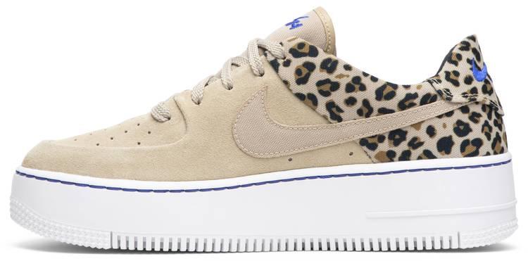 air force 1 leopardate rosa
