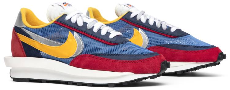 Nike Sacai x LDWaffle 'Varsity Blue'