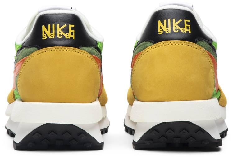 Nike Sacai x LDWaffle 'Green Gusto'