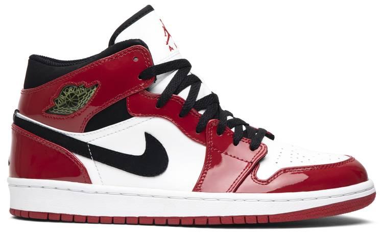 Air Jordan 1 Retro Patent 'Chicago Bulls' 2003 - Air Jordan ...