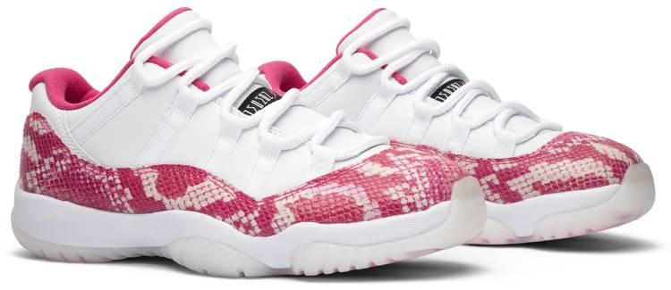 Wmns Air Jordan 11 Retro Low 'Pink Snakeskin'