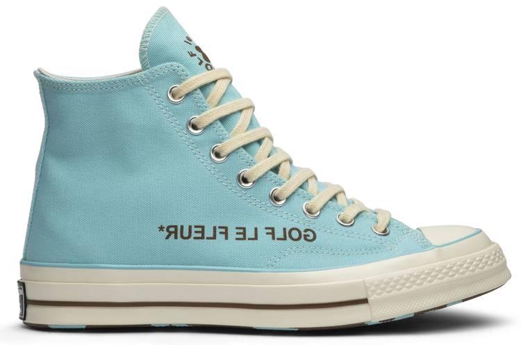 Golf Le Fleur X Chuck 70 High Blue Converse 163863c Goat