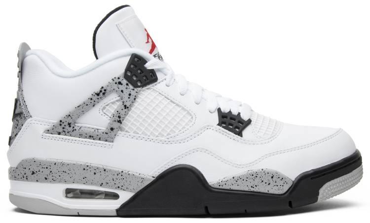 Air Jordan 4 Retro OG 'White Cement' 2016