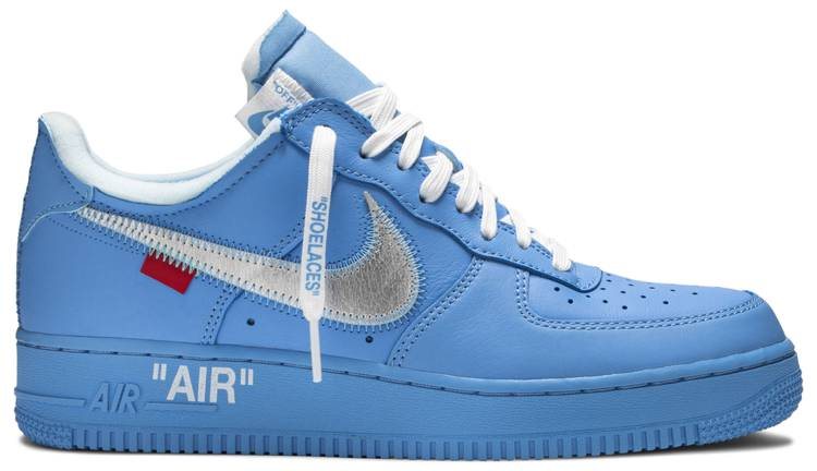 Off White X Air Force 1 Low 07 Mca Nike Ci1173 400 Goat