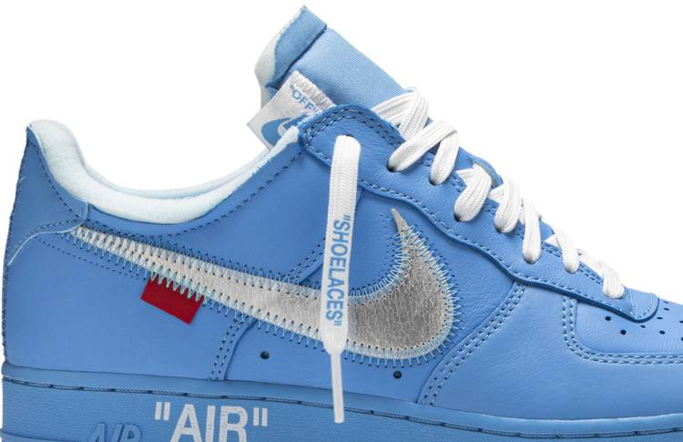 enfermedad colgar Yo  OFF-WHITE x Air Force 1 Low '07 'MCA' - Nike - CI1173 400 | GOAT