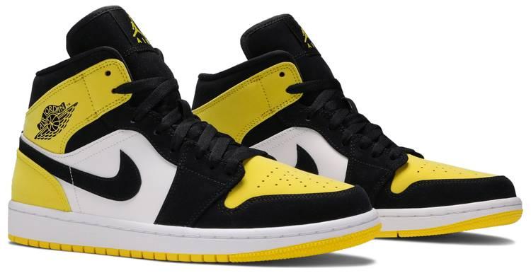 Rizo Exitoso danza  Air Jordan 1 Mid SE 'Yellow Toe' - Air Jordan - 852542 071 | GOAT