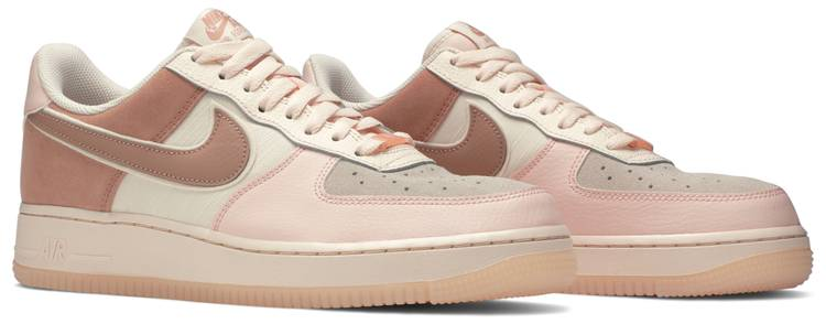 Wmns Air Force 1 07 Low Premium Washed Coral Nike 896185