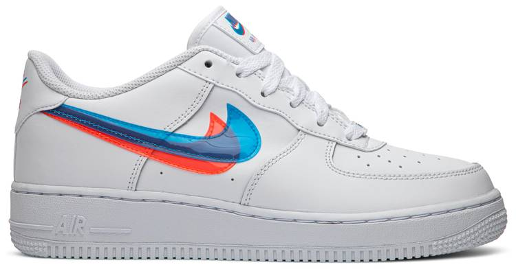 air force 1 3d swoosh