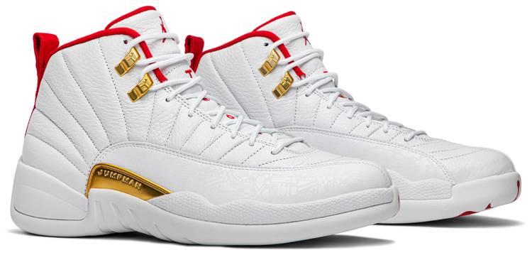 Air Jordan 12 Retro 'FIBA' - Air Jordan - 130690 107 | GOAT