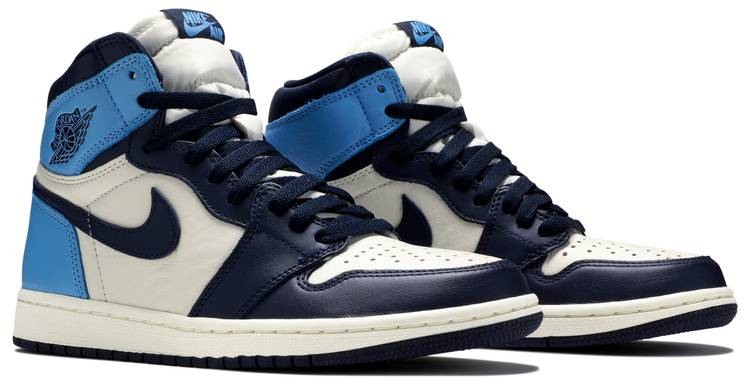 Air Jordan 1 Retro High Og Obsidian Air Jordan 555088 140 Goat