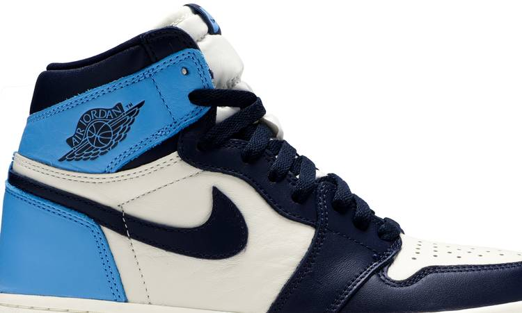air jordan 1 mid obsidian university blue