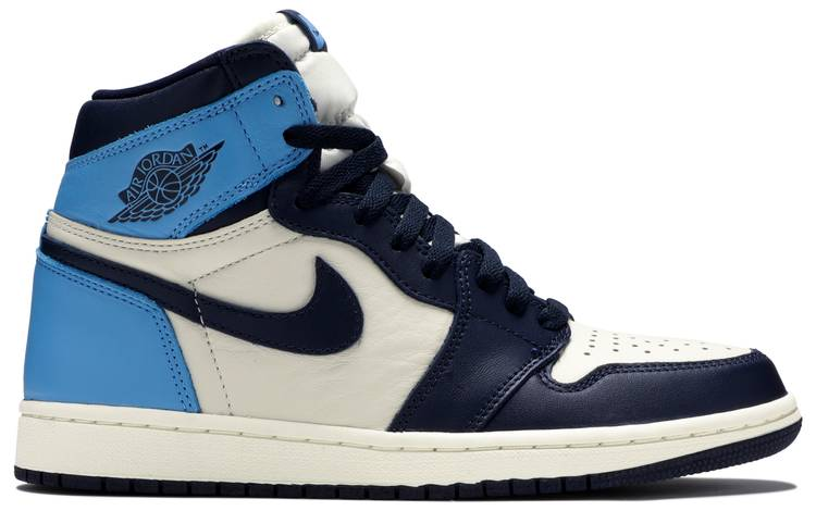 air jordan 1 obsidian 38